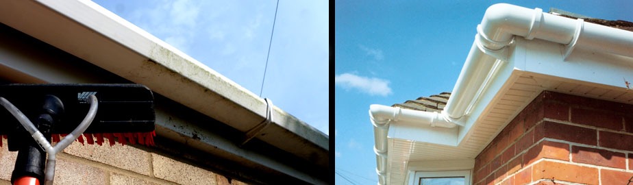 Facia and soffit cleaning cheltenham